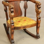 Victorian Empire Style Rocking Chair