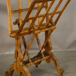 Early Victorian Oak Portfolio Stand
