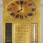 Tiffany & Co. French Art Deco Style Bronze Desk Clock