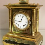 Seth Thomas and Sons Bell Strike Mantel Clock