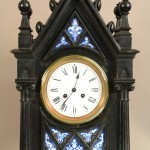German Gothic Mantel Clock