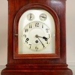 German Mantel Clock, Junghans Movement