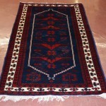 Persian Style Semi-Antique Wool Rug