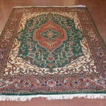 Persian Style Semi-Antique Wool Carpet