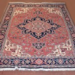 Semi-Antique Persian Wool Carpet