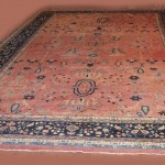 Antique Sarouk Style Persian Carpet