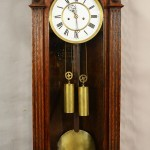 "Lenzkirch 53"" Oak German Wall Clock"